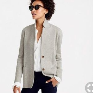 J. Crew Knit Sweater Blazer